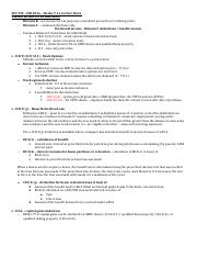 ACC 742 – Weeks 9 - 11 notes.docx