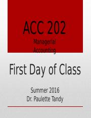 First Day of Class PowerPoint - Summer 2016(1).pptx