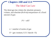 Chapter 10b & 11a