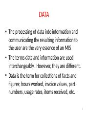 DIS511_SEP-DEC_2016_DATA_INFORMATION_COMMUNICATIONS_AND_SYSTEMS_THEORY_LECT_2