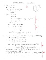 Exam 1 W12 Solutions
