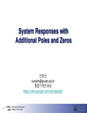 5_System Responses with Additional Poles and Zeros.pdf