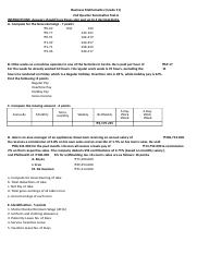 2 SUMMATIVE TEST (BUSINESS MATHEMATICS - WITH BLANK)22