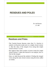 6_Residues and poles