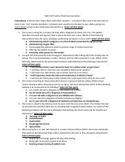 NUR 312 Practice Final Exam Questions Answer Key.docx