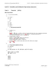 Lab03_Variables and Arithmetic Operations_Answer.pdf