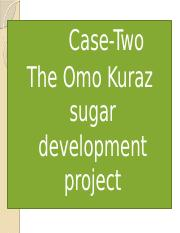 The Omo Kuraz sugar development project (By Yohannes L.).pptx