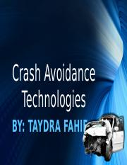 Crash Avoidance Technologies.pptx