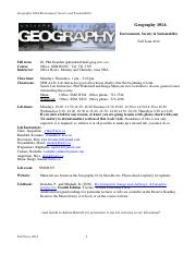 Geography101A Lab Manual