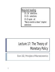 (17) The Theory of Monetary Policy.pptx