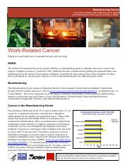 Article - Investigation - Work Related Cancer