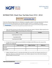 Get Basic with OnlineBank(1) (2) docx - NGPF Activity Bank