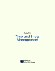 1 - Time and Stress Management - Harcourt Learning Direct