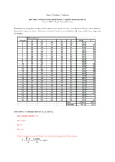 SAWorksheet06Solution