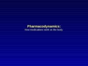 Pharmacodynamics1