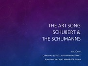 16-The Art Song&Schumanns
