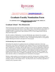 Graduate Faculty Nomination Form (nontenure).doc