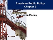 Notes 10 - Economic Policy Part 1