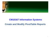 IM T08 MS_EXCEL_Create and Modify PivotTable Reports