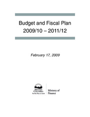 2009_Budget_Fiscal_Plan