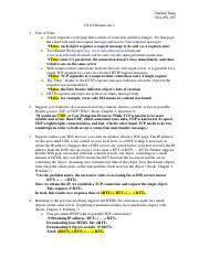 Dns http homework solution