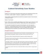 Cultural Sensitivity Case Studies Sub 3.12.docx