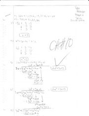 Pre Calculus Homework Page 324-325