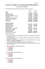 39 - Cash flows statement