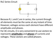 PHYS 1801_Lecture 25 and 26_RLC Circuit