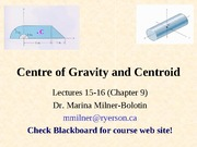 Chpater 9-Center of Gravity and Centroid