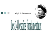 Virginia Henderson helene deschenes ppt