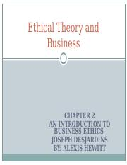 Ethical Theory and Business.ppt