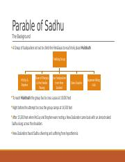 Parable of Sadhu_Summary & analysis.pptx
