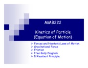 kinetics of particles1
