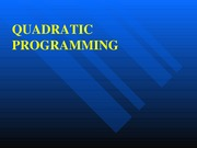 L32_Quadratic Programming - Modified Simplex algorithm