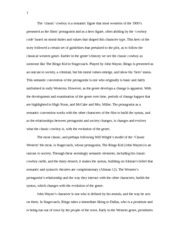 film introduction to film studies carleton ca page  6 pages film1000 essay western and cowboy