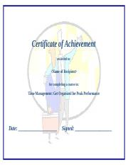 Certificate of Achievement - ASBM.doc