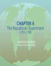 Chapter 6 The Republican Experience.ppt