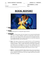 BEAUTY AND THE BEAST Short Story for Grade 5.docx