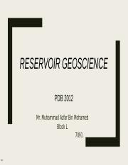 1) Lecture 1_fundamentals of reservoir geology