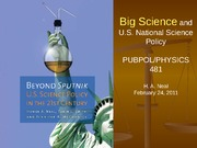 2011 02 24 Big Science