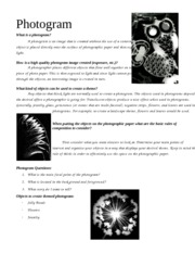 Photogram_Research_Paper_#1