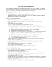 Qual Methods Exam Study Guide