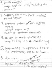 QUALITIES OF LEADERS NOTES