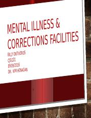 Special Populations in Corrections