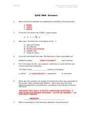 1301 Quiz One ANSWER KEY_AND EXPLAINATIONS-2.docx