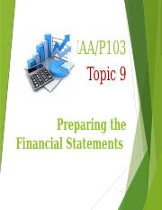 T3 Topic 9 Lecture Notes MAAP103.pptx
