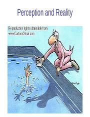 03 Perception and Reality.ppt