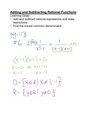 Add and Subtract Rational Functions.pdf