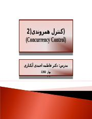 9-Concurrency Control-2